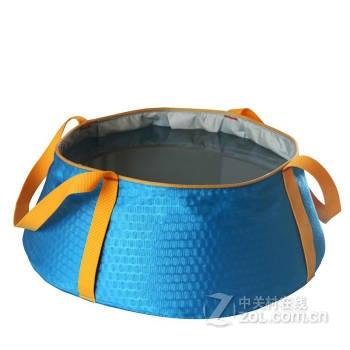旅游折叠水盆超轻便携手提式洗漱盆洗脸盆钓鱼水桶10