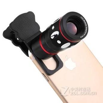 【手机手机外接8倍长定焦望远镜镜头手机适用图放胸镜头图片