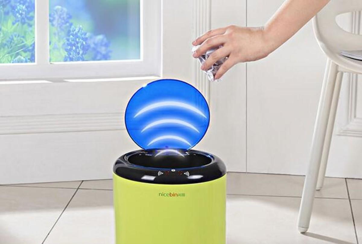 【高清图】简化日常生活 智能感应垃圾桶更懂用户 图3