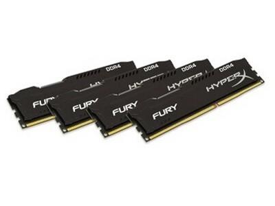 金士顿 骇客神条FURY 16GB DDR4 2400
