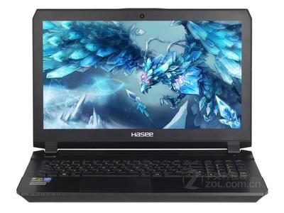 神舟(HASEE)战神Z7-SL7S4 15.6英寸游戏笔记本电脑i7-6700HQ 8G 512GB GTX970M顺丰包邮同城可送货上门