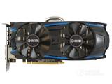 影驰GeForce GTX 1060大将整体外观图