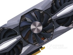 索泰GeForce GTX 1070-8GD5 至尊Plus OC散热