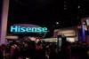 向OLED宣战 海信双色4K激光电视亮相CES
