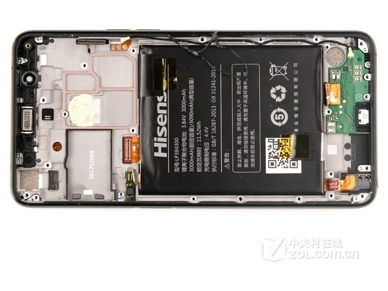 【高清图】 海信(hisense)双屏手机a2(全网通)拆机图 图95