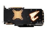 技嘉AORUS GTX 1080Ti Xtreme Edition 11G整体外观图