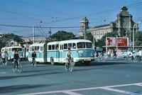 80年代珍贵照片 中国大地的老公交车赏