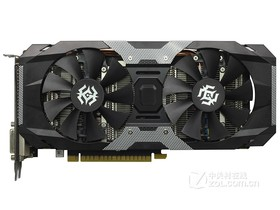索泰GeForce GTX 1050Ti-4GD5 X-Gaming OC正面