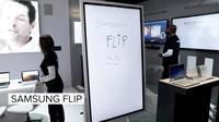55吋逆天新品:Samsung Flip智能白板亮相