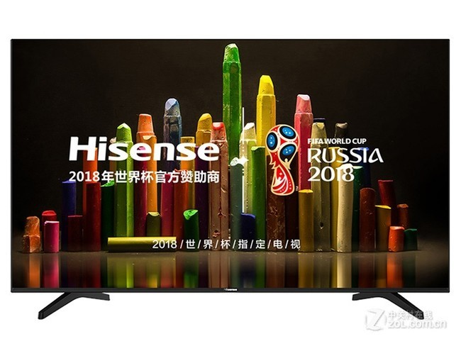 海信led55n51u液晶电视(55英寸 4k)京东618盛宴3499元
