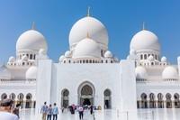 大C游世界 阿布扎比最大的清真寺掠影