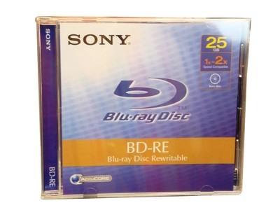 正品 索尼/SONY BD-RE(可重复刻录) 25GB 蓝光盘(BNE25A)