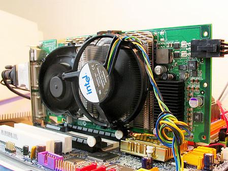 另类改造 7800GTX竟加装奔4风扇[图]