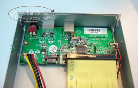 元谷星钻pd-sata移动硬盘盒内部电路