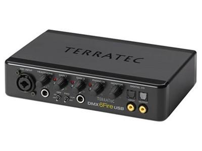 TerraTec 德国坦克 DMX 6fire USB 外置USB声卡
