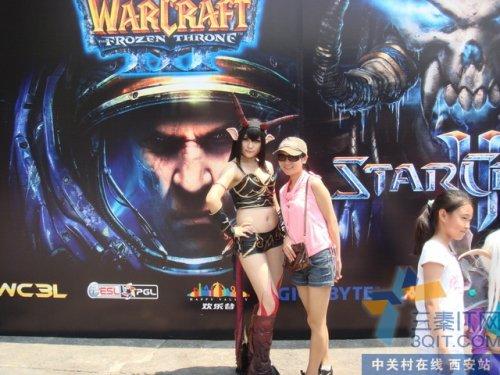 【高清图】 北京欢乐谷电竞嘉年华 魔兽世界cos欣赏图1
