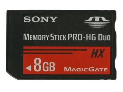 【限时抢购】皇冠信誉 批发价格 原装正品 索尼 Memory Stick PRO-HG Duo HX(8GB)