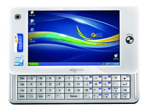 侧滑全键盘MID 爱国者P8880E热卖1999元