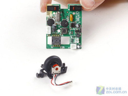 鼠标主控电路板与编码式滚轮