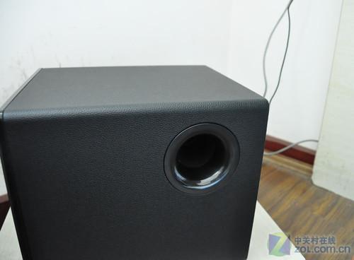 麦博fc361(10)音箱低音炮特写