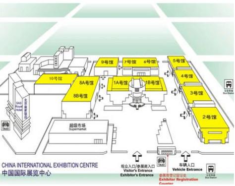 北京国际广播电影电视设备展场馆地图详解