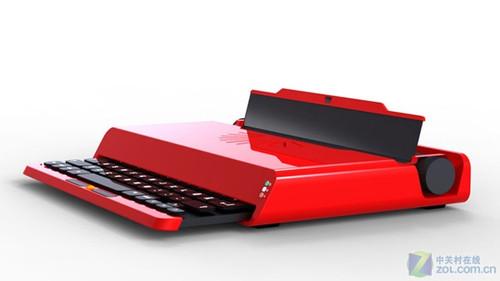 最性感的笔记本 用红色复古设计(组图)_笔记本电脑