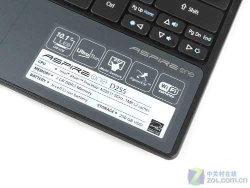 携ATOM双核心 宏碁上网本D255首发评测