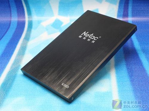 9.4mm极致纤薄 朗科推K303移动硬盘