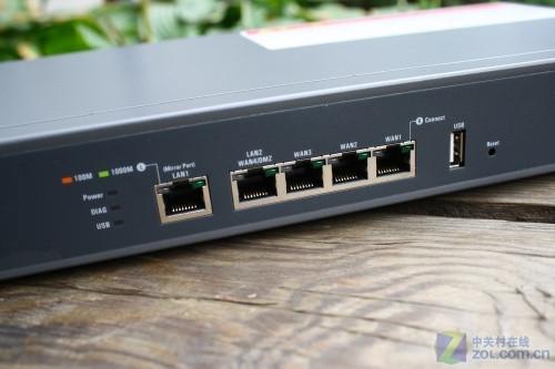 双核来袭 侠诺GQF630全千兆安全路由评测