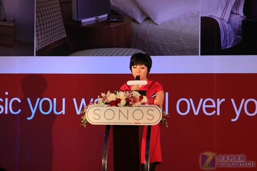 无线音箱新贵 美国SONOS品牌发布纪实