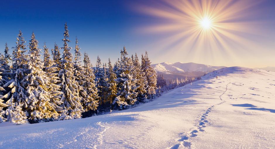 冰雪世界 冬日里的风景高清组图欣赏