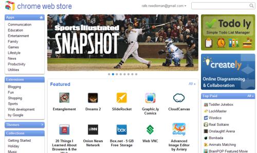 谷歌Chrome Web Store对开发者正式开放