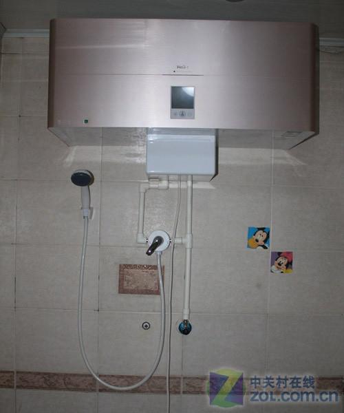 大功率不是罪 5000w热水器安装全过程_海尔电热水器