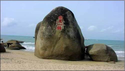 2011海南主题地图 新年温暖又有爱