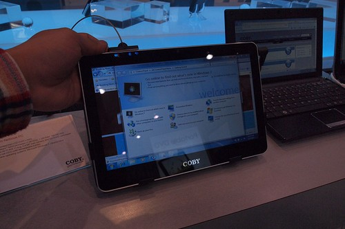 CES2011:神秘新军 COBY平板电脑图赏