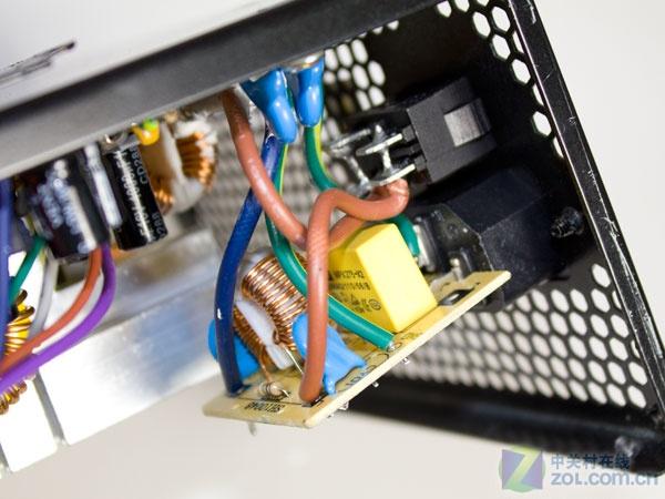 电源一级emi滤波电路y电容