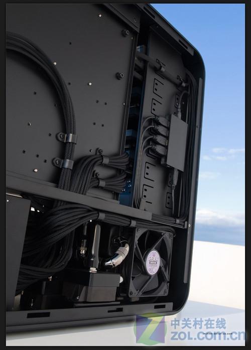 蓝天蓝光蓝水管 mdpc超级改造机箱图赏