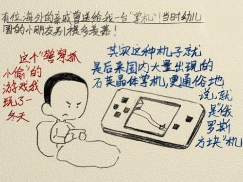 鉛筆畫記錄游戲童年 回憶中還留有哪些?
