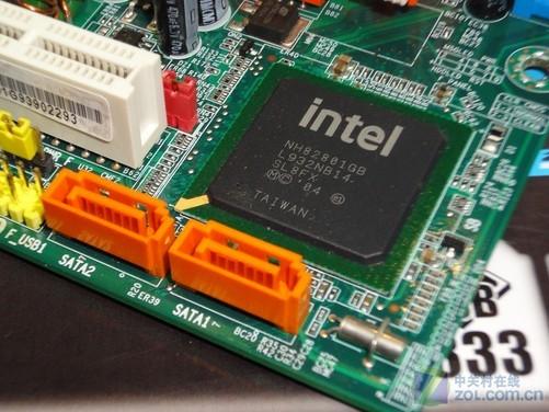 仅提供了2个sata2磁盘接口和1个ide接口,用户后期的升级局限比较严重.