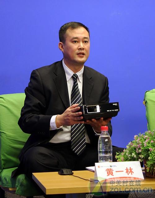 杰科黄一林:高清元年我们的目标是第一