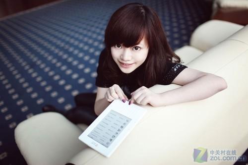 汉王女性电纸书系列之 F32小美女图赏