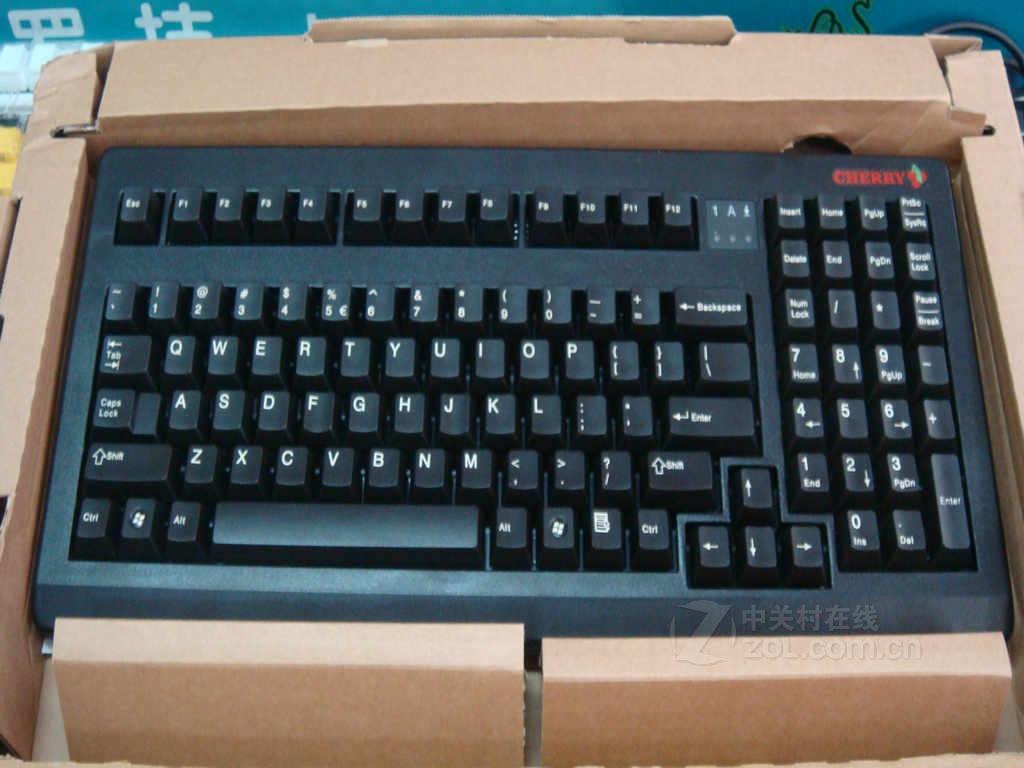 【原始大图】Cherry G80-1865(黑色红轴)键盘实拍图图片欣赏-ZOL中关村在线