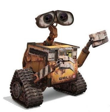故事描述地球上的清扫型机器人瓦力爱上了女机器人伊芙(eve)后,跟随她