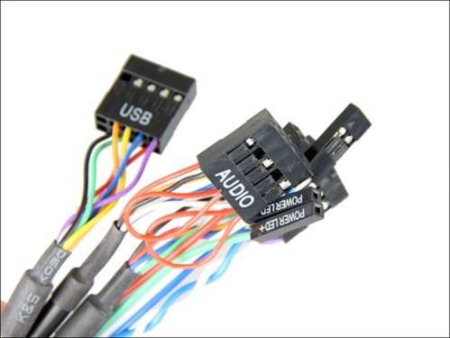 音频接口接线等连接