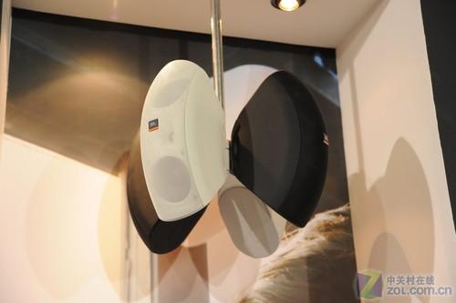 jbl多系列产品参展  jbl会议音箱和吸顶式喇叭