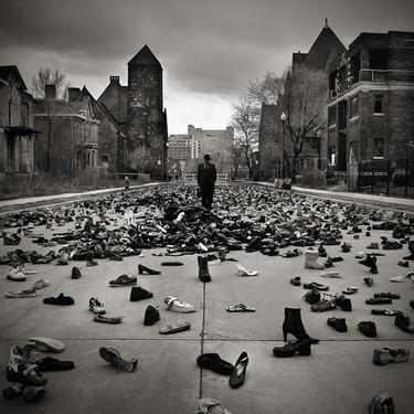 末日来临前的恐怖 美国摄影师惊悚作品