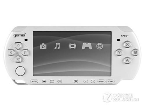 歌美X760+ LE游戏MP4上市价仅售399元