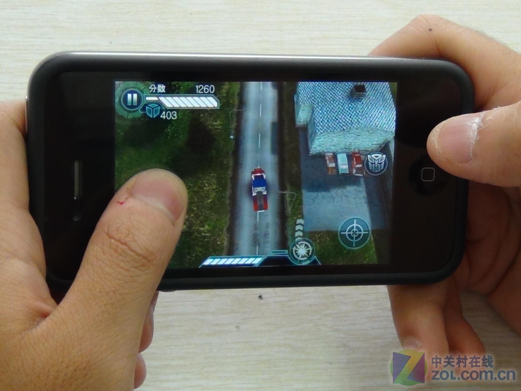 【原始大图】大葱玩手机:变形金刚3预热手机这样玩图片欣赏-ZOL中关村在线