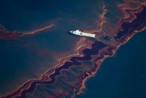 应对海洋石油污染
