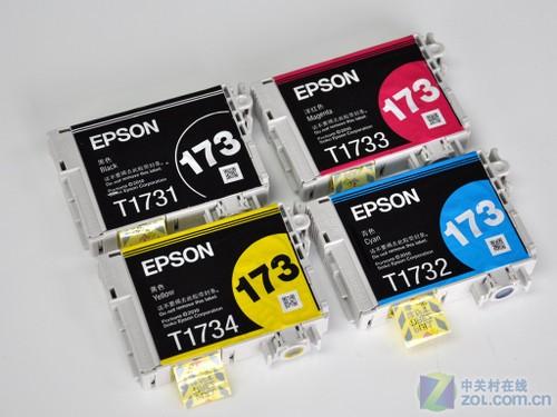 爱普生新一代学习机可使用T173系列墨盒(T1731黑墨售价29...